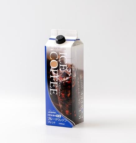 ブルーマウンテンブレンドアイスコーヒー無糖1000ml